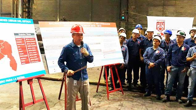 Diego Ricol Freyre recomienda: Sidor reactiva Planta de Laminación en Caliente en el estado Bolívar