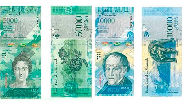 Diego Ricol Freyre recomienda: Este lunes entran en circulación los nuevos billetes de Bs. 5.000 y Bs. 10.000