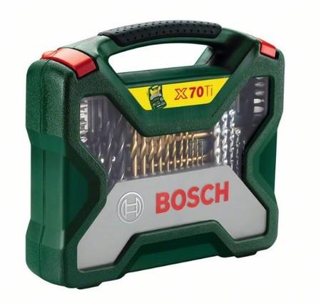 Diego Ricol recomienda: Por 30,77 euros tenemos el maletín Bosch X-Line Titanio con 70 accesorios en Amazon