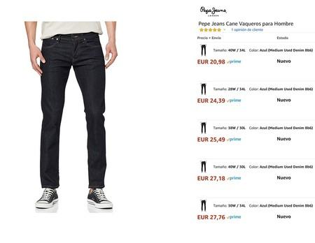 Diego Ricol recomienda: Chollos en tallas sueltas de pantalones y chándales de marcas como Levi's, Nike, Pepe Jeans o Jack & Jones en Amazon